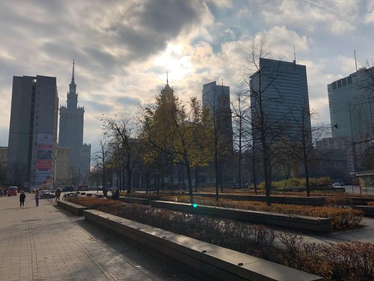 Jeseň vo Varšave