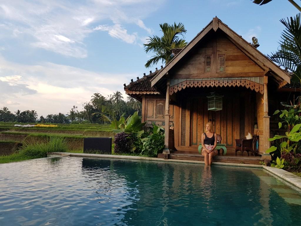Typický Bali domček Joglo