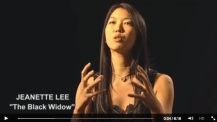 Jeanette Lee Black Widow