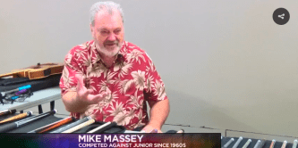 Pool Pro: Mike Massey tells 'Junior Norris' stories to KDFX News in 2016.