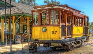 Trolley @ Old Poway Park | Poway | California | United States