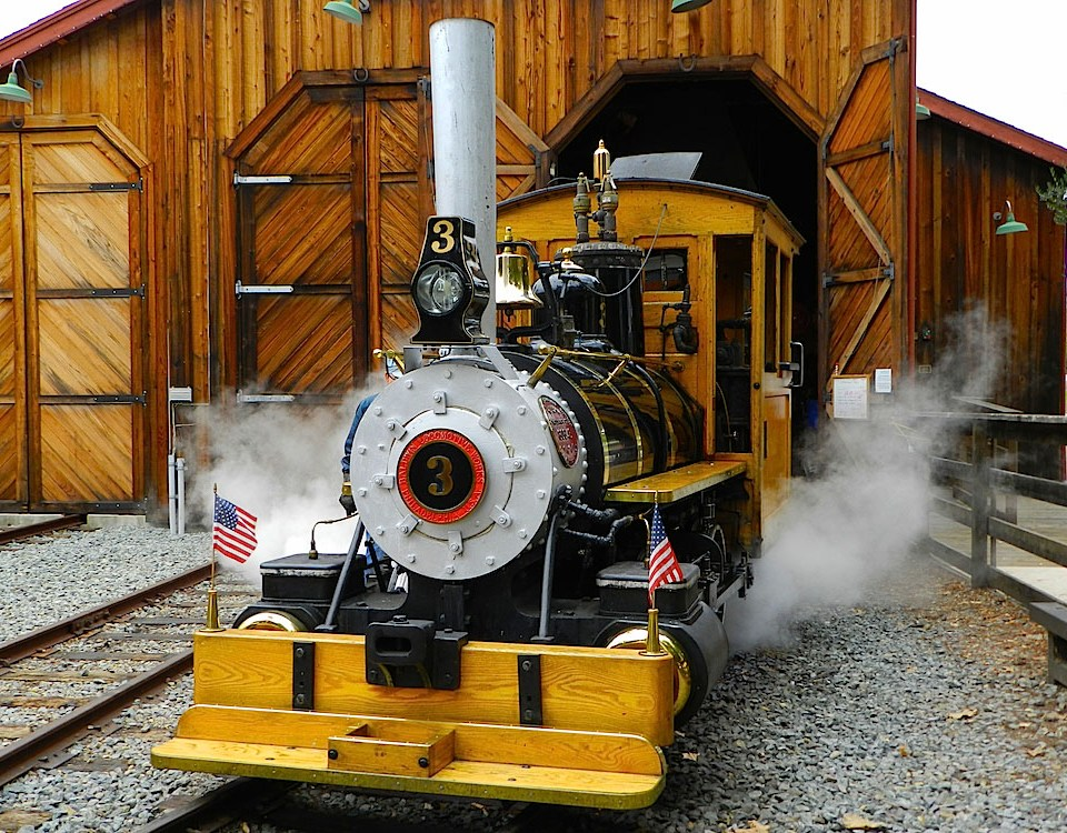 poway-midland railroad Baldwin Steam Engine