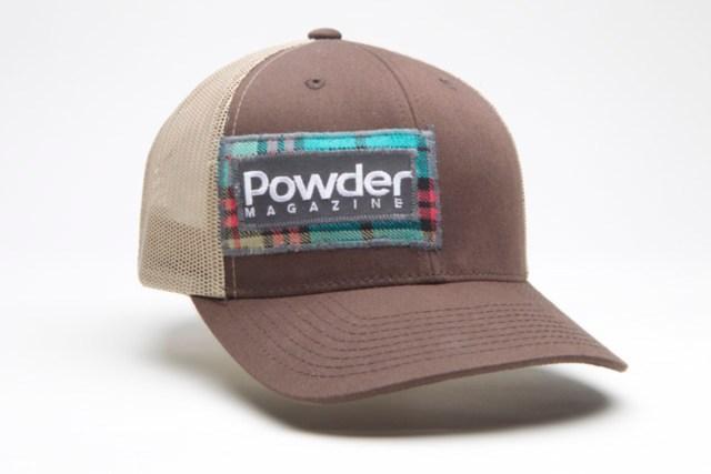 ffddceab94fecf Customized Powder mag BigTruck hat. Photo: JP Van Swae