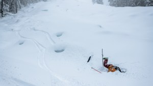 This Is What it Looks Like to Ski 86 Inches of Utah Powder