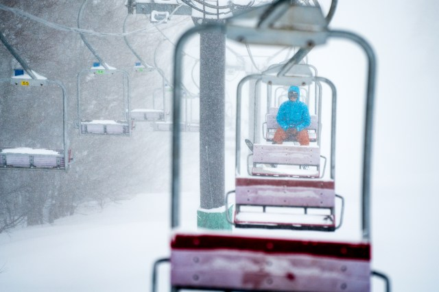Cody Townsend, Lonely Chairlift