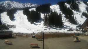 Arapahoe Basin base area May 26