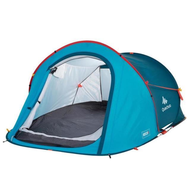 Decathlon   Quechua 2-Second 2-Person Waterproof Camping Tent