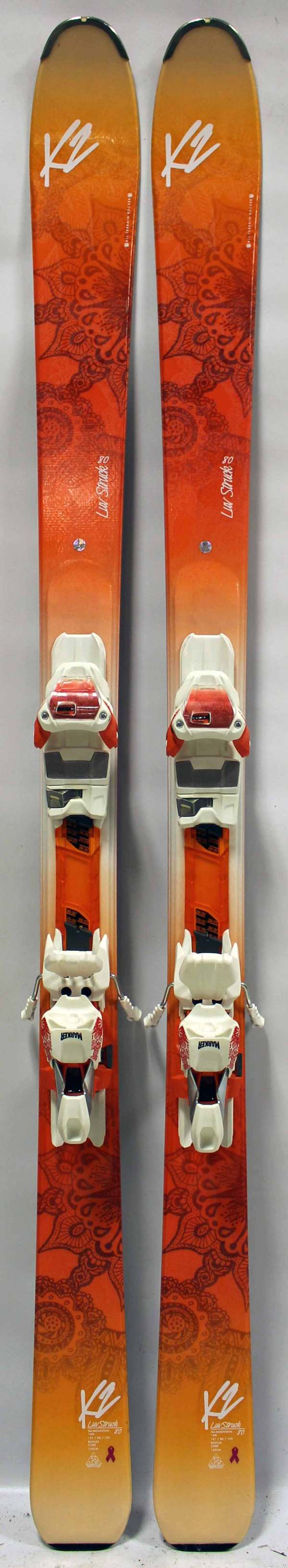 K2 Luv Struck 80 Women' Skis Powder7 Ski