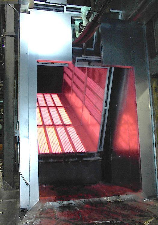 Infrared Ovens for Powder Coating  IR Ovens PowderCoatingOnlinecom