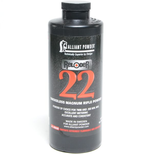 Alliant Reloder 22 - Powder Valley