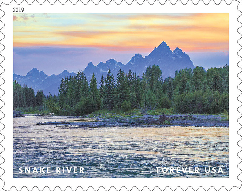new stamp features wyoming