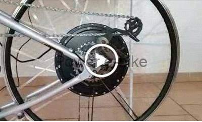 vidéo test moteur vélo électrique 6x10 180/280 nine continent