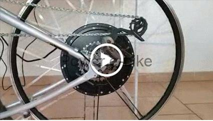 video test engine electric bike 6x10 180/280 nine continent