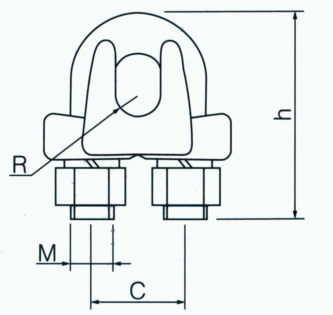 China Customized Guy Wire Clips Suppliers and