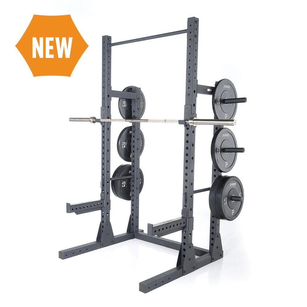 granite series half squat rack power systems
