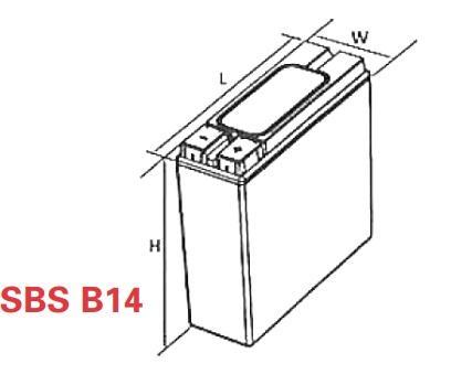 VRLA Battery PowerSafe SBS EON 12V 62 Ah SBS B14
