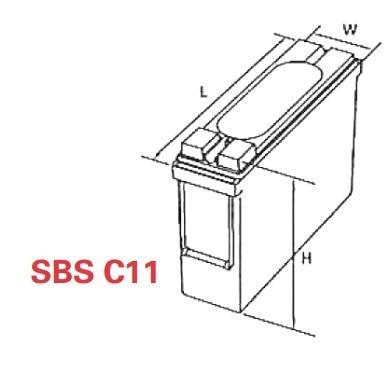 VRLA Battery PowerSafe SBS EON 12V 92 Ah SBS C11