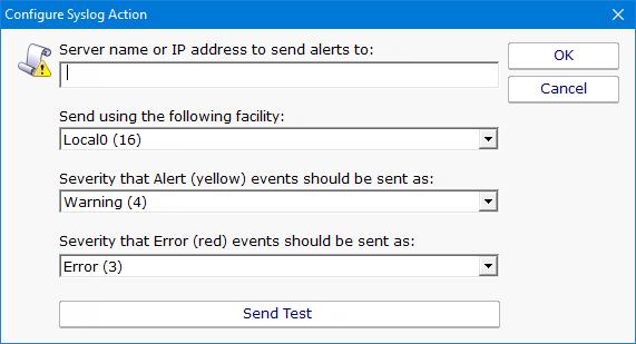 PA Server Monitor Documentation - Fire Syslog alert