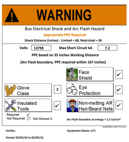 Create Warning! labels when necessary