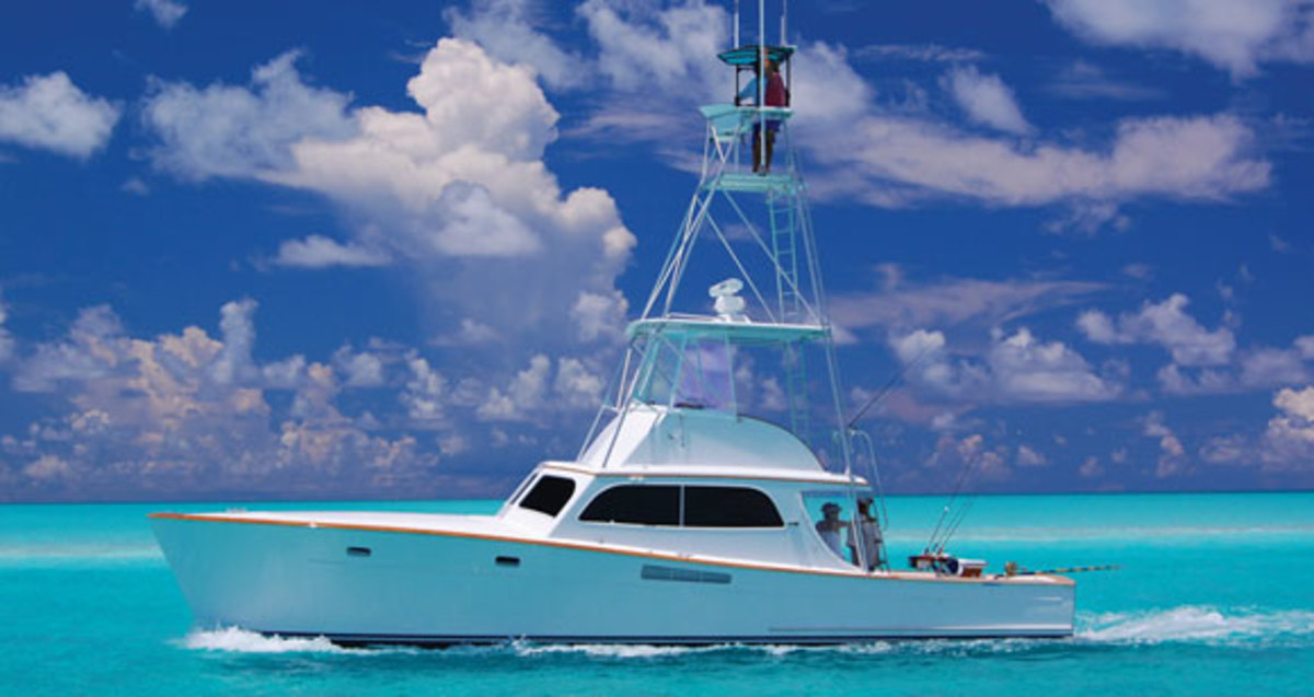 Merritt 43 Power Amp Motoryacht