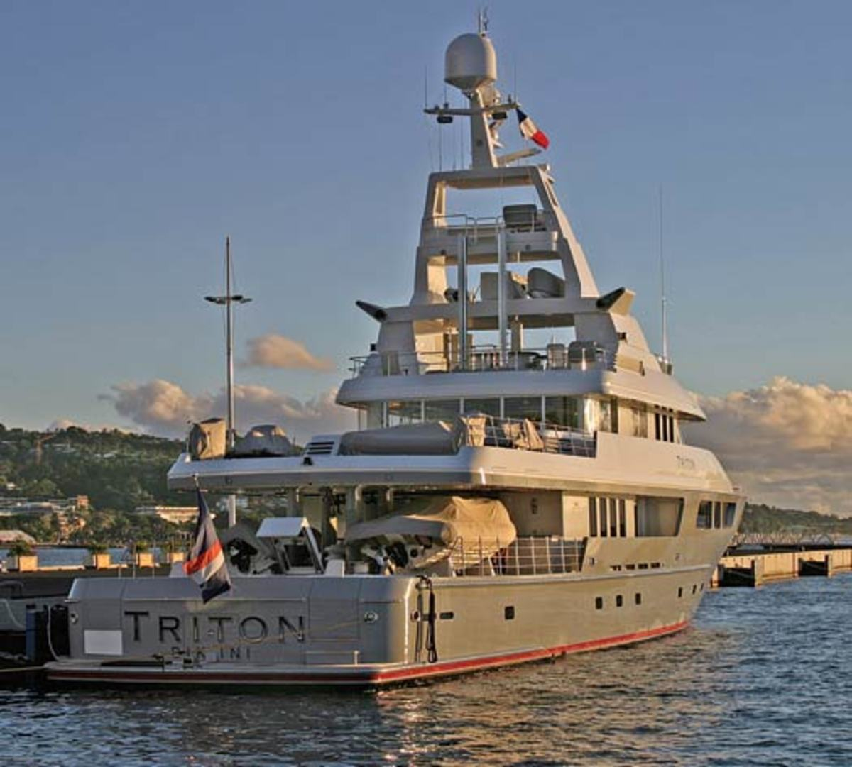 Americas 100 Largest Yachts 2007 77 Triton Power
