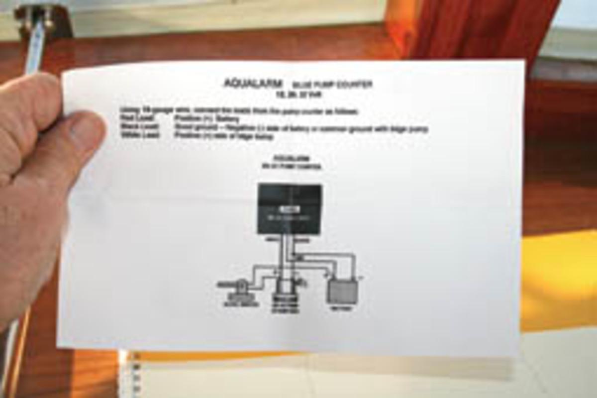 hight resolution of  navigation light switch wiring diagram bilge pump early warning system power motoryacht on sprinkler flow switch wiring diagram