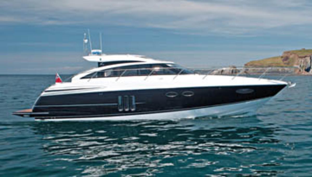 Princess Yachts V52 Power Amp Motoryacht