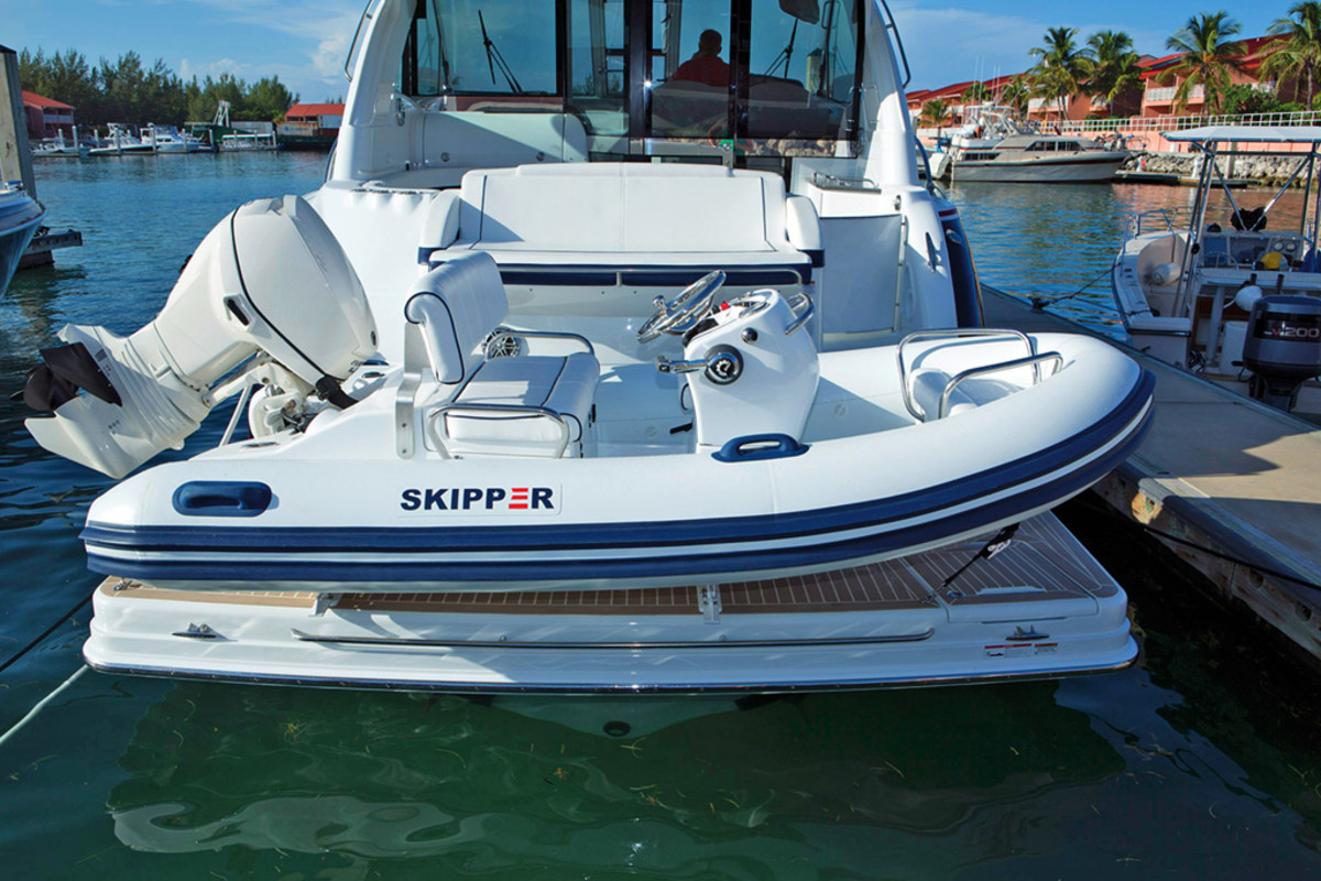 How To Travel With Your Tender Power Amp Motoryacht