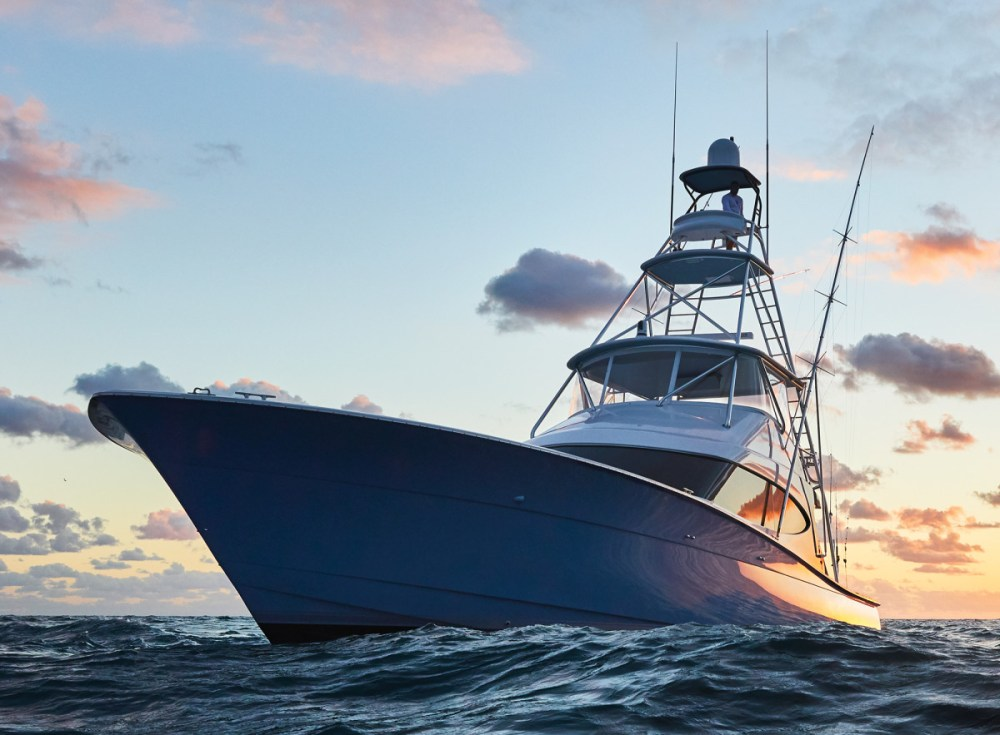 medium resolution of hatteras uses the hatterascal program to fine tune its convertibles from the 36c circa 1970 below to the gt59 of today