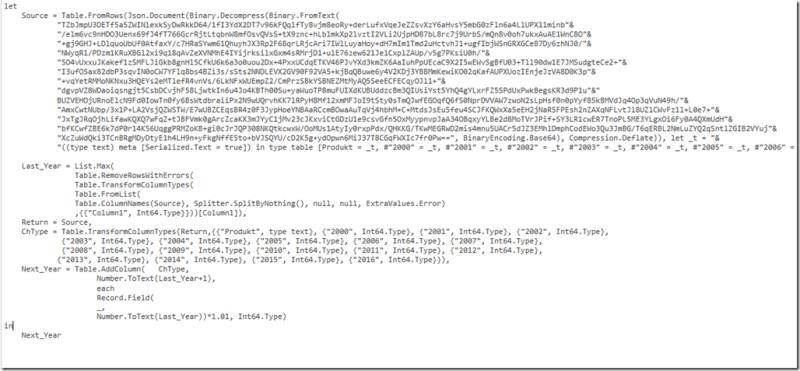 M Code für dynamische Spaltennamen in Power Query