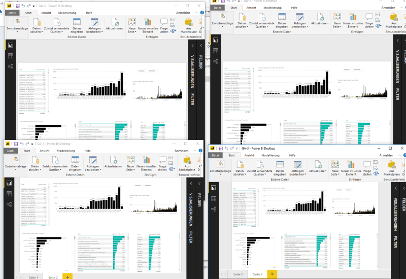 Opening the same PowerBI file multiple times