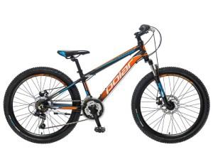BICIKL POLAR ALASKA 24 black-orange-blue najpovoljnija cena