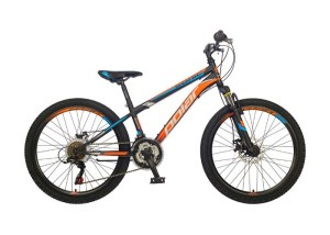 BICIKL POLAR SONIC FS DISK 24 black-orange najpovoljnija cena