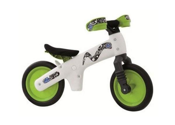 BICIKL GURALICA BELLELLI PVC white-green najpovoljnija cena
