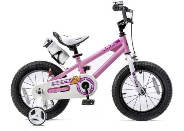 """BICIKL ROYAL BABY FREESTYLE 14"""" pink najpovoljnija cena"""