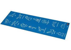 PODLOGA ZA VEŽBANJE SKLOPIVA BB-8301 4mm blue najpovoljnija cena