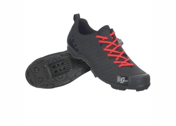 CIPELE SCOTT MTB RC LACE mat black-gloss black