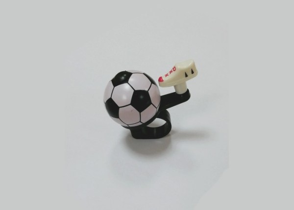 ZVONCE FOOTBALL black-white najpovoljnija cena