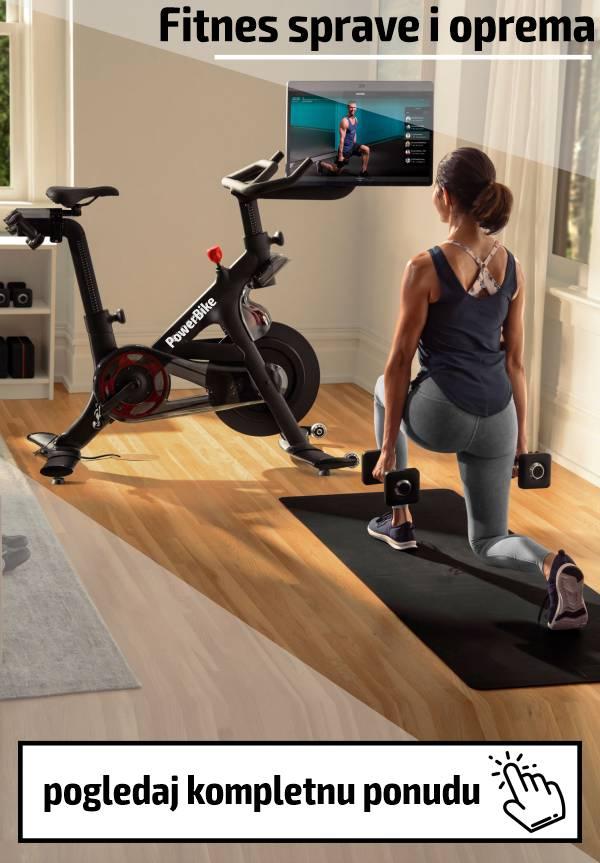 Veliki izbor fitnes sprava i opreme po povoljnim cenama