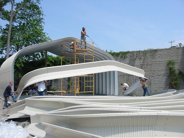 Pictures Of Quonset Huts Powerbilt Steel Buildings
