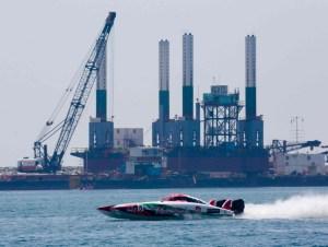 Team Abu Dhabi 5 in action in Fujairah last week.