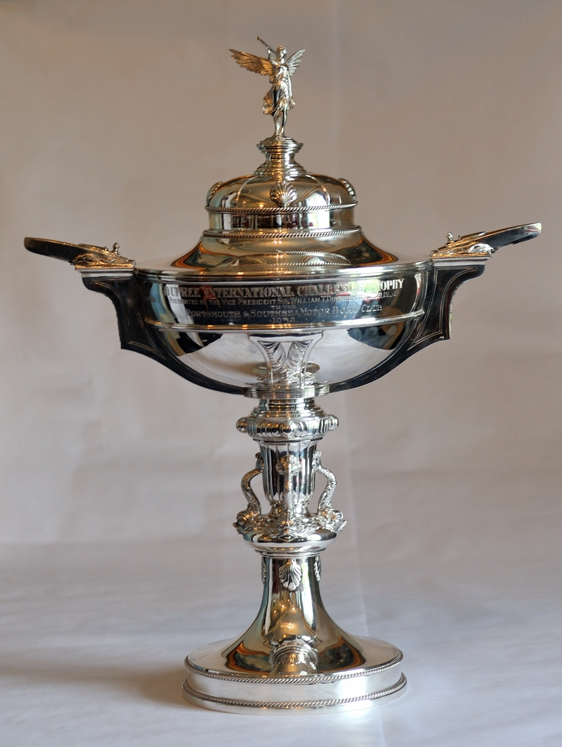 "The ""Dupree International Challenge Trophy"" Photo: Davies-Team Britannia"