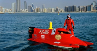 It's F1H2o Team Sweden for Stark in 2017