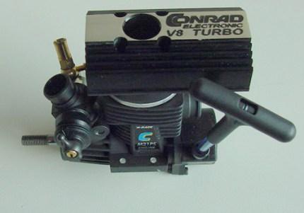 Der neue Powerboot Supermotor X-Race V8 Turbo - andere Ansicht