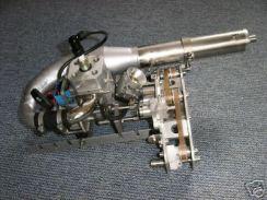 Mathe Motor mit Getriebe