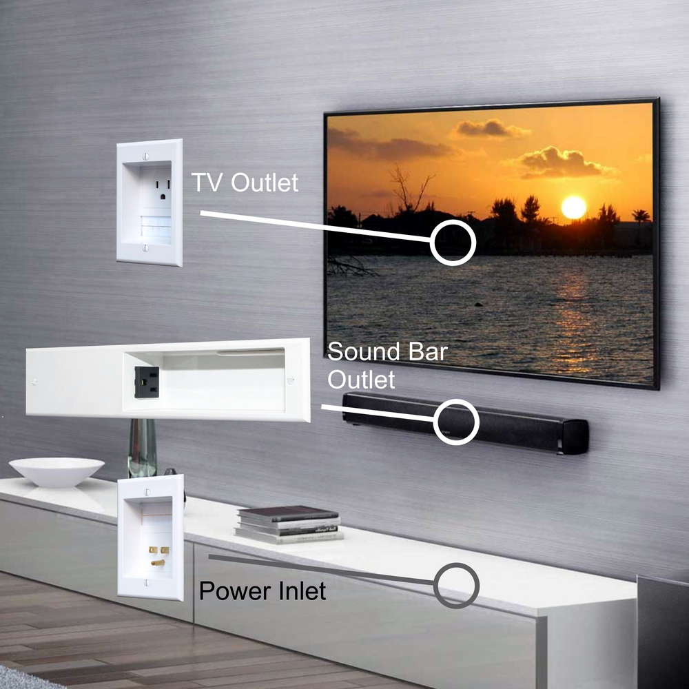 medium resolution of powerbridge unique solution for sound bar in wall wiring lightbox