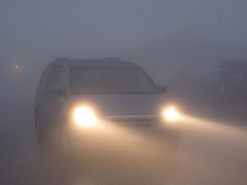 Image result for car light in fog