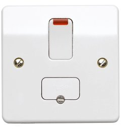 mk electric k1060whi logic plus white moulded double pole switched connection unit with neon 13a 5467 p jpg [ 1088 x 1084 Pixel ]