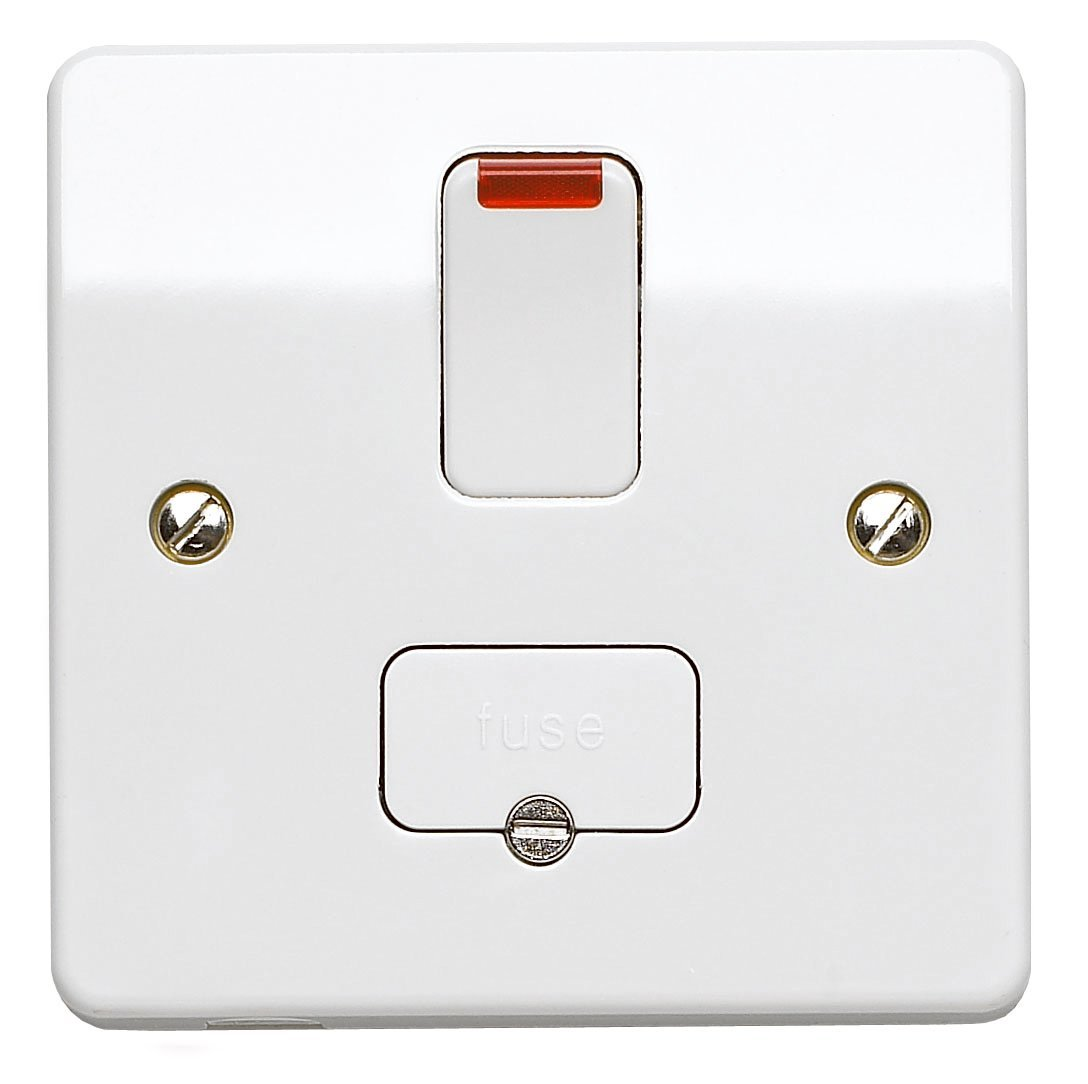 hight resolution of mk electric k1060whi logic plus white moulded double pole switched connection unit with neon 13a 5467 p jpg