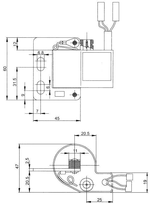 Powerdynamo, Bausatz Zündung für Verteiler 2 Zylinder